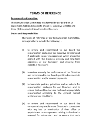 TOF - Remuneration Committee